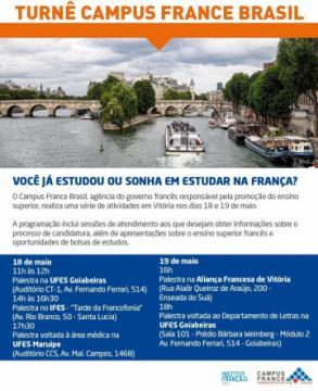 Campus France Brasil na UFES